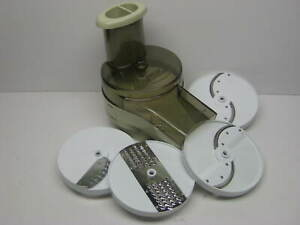 Vintage Oster Regency Kitchen Center Slicer Shredder Salad Maker Attachment