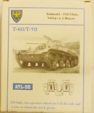 Friulmodel 1/35 T-60 T-70 Metal Track Link Set ATL-55