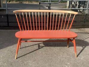Ercol Originals Rare Love Seat-Factory Sprayed/Painted