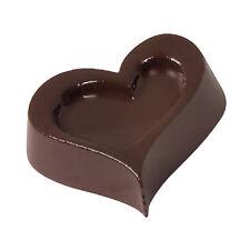 Paderno Form schokolade polycarbonat 15 fußabdrücke herz