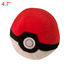 4.7'' Pokemon pikachu Pokeball Cosplay Master poke BALL Plush Toy Doll NEW