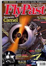 Flypast 2014 April Sopwith Camel,B-17,Dauntless,B-58,P-51,Alize