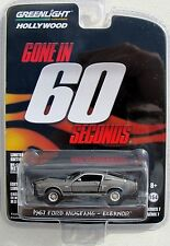 GREENLIGHT HOLLYWOOD SERIES 7 GONE IN 60 SECONDS 1967 FORD MUSTANG ELEANOR