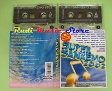 MC SUPER SANREMO 2002 ALEXIA RUGGERI LOLLIPOP PATTY PRAVO PAOLI no cd lp dvd vhs