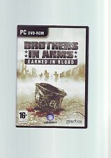 BROTHERS IN ARMS : EARNED IN BLOOD - PC GAME - FAST POST - ORIGINAL & COMPLETE