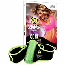 Zumba Fitness Core Game PAL (Includes Belt) Wii Nintendo Wii Brand New