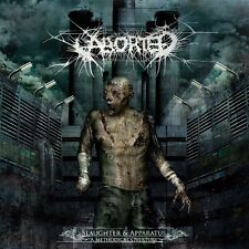 Aborted - slaughter & apparatus: a methodical overture (CD) + BONUS ENHANCEMENT