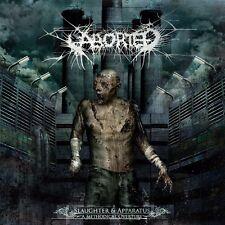 Aborted - slaughter & apparatus: a methodical overture (CD) + BONUS ENHANCEMENT