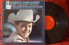 PEDRITO (Pedro) FERNANDEZ **Mis Grandes Exitos** RARE SPAIN LP *1985 RESSUE*