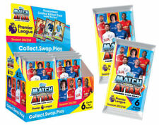 Topps MATCH ATTAX 2017 2018 EPL Premier League Trading Cards 50 Packs Box NEW