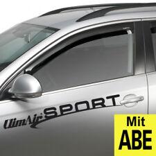 ClimAir Windabweiser schwarz vorne Lexus IS Typ XE2(a) 4 Türer Bj. 2014