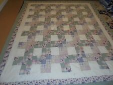 Nice Four Block Granny Square Pattern w/Frame Quilt