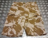 Genuine British Army Issue DPP Desert Camo Pattern Shorts - All Sizes - NEW