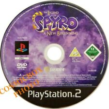 PlayStation 2 - the LEGEND of SPYRO / A New Beginning - jeu enfant ps2 testé PAL
