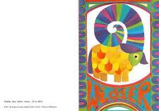 """RARITÄT Original Künstler Faltkarte um 1970 Ars sacra Verlag """"4041""""mit Umschlag"""