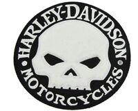 SUPER RARE HARLEY DAVIDSON CHENILLE WILLIE G VEST PATCH * DISCONTINUED * XL