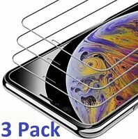 For iPhone 12 11 Pro 8 7 6s Plus X Xs Max XR Tempered GLASS Screen Protectors
