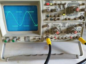 Oscilloscope Hameg HM205-3 d'occasion : il fonctionne !