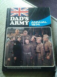 dads army Hardback annual 1974 based on tv series