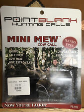 Point Blank Mini Mew Cow Call Pb-Mm Compact Size Big Volume