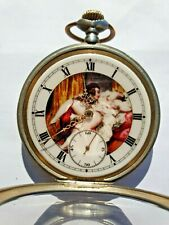 Antique Silver French Pocket Watch