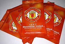 Futera 1997 Manchester United 5x UNOPENED PACKETS David Beckham +++