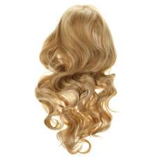 Perruque Blonde Longue Bouclée Cheveux Pour Partie Soirée Cosplay Réaliste