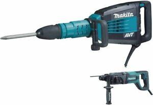 Makita HM1214CX 27-Pound AVT Demolition Hammer, Blue (Limited Time Offer)