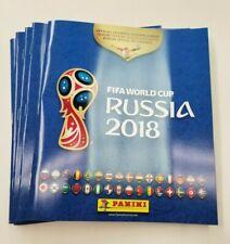 2018 Panini FIFA World Cup Russia Sticker Collection Album