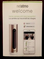 Netatmo Welcome 1080p Home Security Camera with Face Recognition NSC01-US NEW