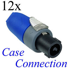 12x NEUTRIK NL2FX - Speakon Stecker - 2polig # Speaker Plug - 2-pole