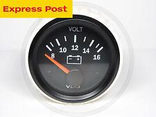VDO 52mm 12V VISION VOLT GAUGE AUTOMOTIVE MARINE 4WD BRAND NEW..!