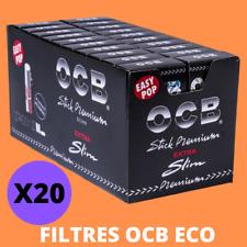 2400 OCB filtres  à cigarettes 20 boîtes de 120 ultra slim 5,7mm non Rizla +