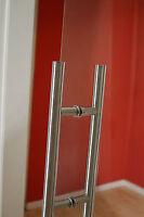 holzschiebet r hst02 mit alu60 schiebesystem und edelstahlgriff beidseitig ebay. Black Bedroom Furniture Sets. Home Design Ideas