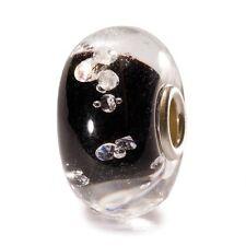 AUTHENTIC TROLLBEAD THE DIAMOND BEAD, BLACK 81002 BEADS DIAMANTE NERO
