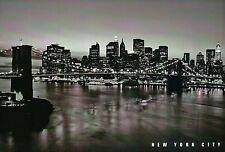 Brooklyn Bridge, Suspension, New York City, East River, Manhattan, NY - Postcard