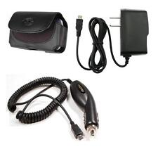 Car+Wall Home AC Charger+Case for TMobile Samsung Smiley :) T359, Champ C3300
