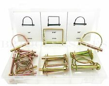 "20 Pc Safety Pin Assortment 1/4"" 5/16"" 3/8""  Lawn Garden Industrial Assorted Set"