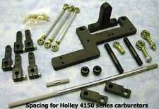 B&M 250 blower supercharger dual carbs mounted sideways carburetor linkage kit