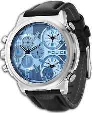 Watch Man Police Watches VIPER R1471684001 leather Black