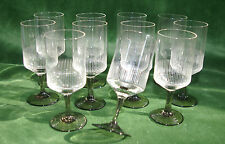 11x Friedrich Kristall Glas - Rauchglas - Eisglas - Likörglas, Schnapsglas 10cm