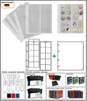 10 LOOK 338571 MÜNZHÜLLEN NUMOH 34 NH20 20 Fächer + ZWL-W Für Münzen bis 34 mm