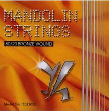 MUTA CORDE PER MANDOLINO YALE STRINGS 10 32 BRONZE 80/20 .010 .014 .024 .032