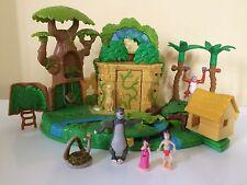 Disney Polly Pocket Libro De La Selva Con Figuras