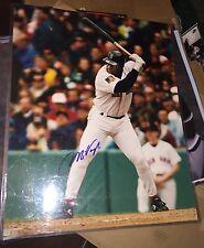Mo Vaughn Autographed 16x20 photo Boston Red Sox Fenway Park
