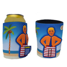 Donald Trump Can Koozie Flag Pole In Pants Red White Blue Flag Collector