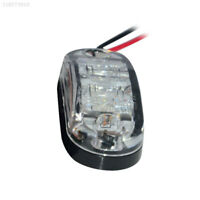0714 2LED 12V 24V Marker Light Indicator Light Side Light Bus Lamp Universal