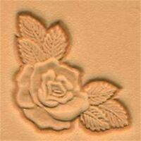 Rose Corner 3d Leather Stamping Tool By Tandy Leather - Stamp 853400 Craf