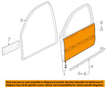 VW VOLKSWAGEN OEM 99-05 Jetta-Door Skin Outer Panel Right 1J4831056K