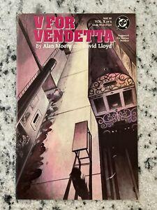 V For Vendetta # 10 NM 1st Print DC Comic Book Alan Moore Movie V  J596